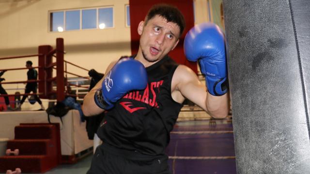 Milli boksör Bilge Kağan Kanlının hayali Avrupa şampiyonluğu