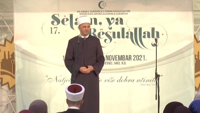 Bosna Hersekte `Selam ya Resulallah` etkinliği