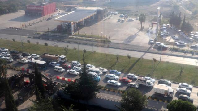 Helikopter destekli trafik denetiminde 42 sürücüye ceza