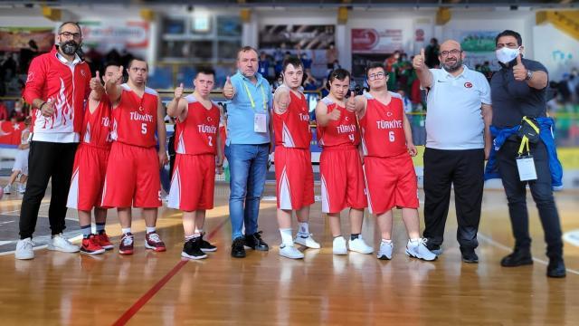 Down Sendromlular Basketbol Milli Takımı Avrupa ikincisi oldu