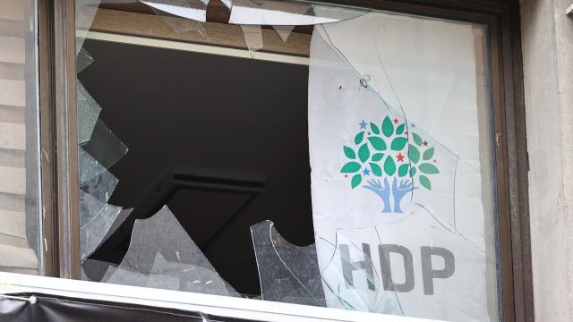 HDP İl Başkanlığındaki saldırıya ilişkin iddianame kabul edildi