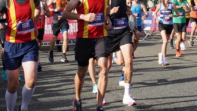 İngilterede maraton heyecanı