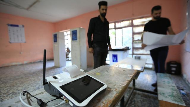 Irakta seçime katılım oranı yüzde 41 oldu