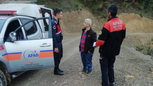 Mantar toplarken kaybolan 2 kişi bulundu
