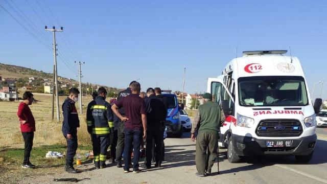 Konyada iki otomobil çarpıştı: 11 yaralı