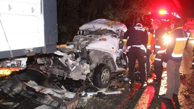 Anadolu Otoyolunda feci kaza: 1 ölü