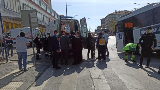 Ankarada zincirleme kaza: 8 yaralı
