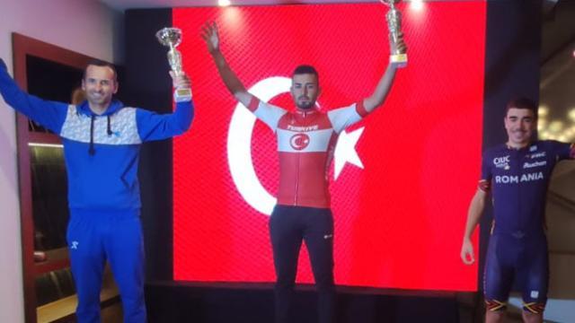 Milli bisikletçiler Balkan şampiyonu oldu