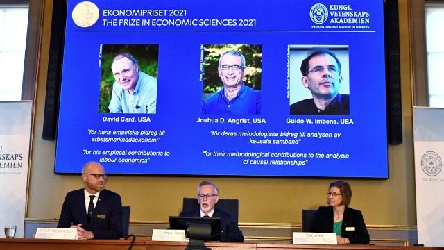 2021 Nobel Ekonomi Ödülü sahipleri belli oldu