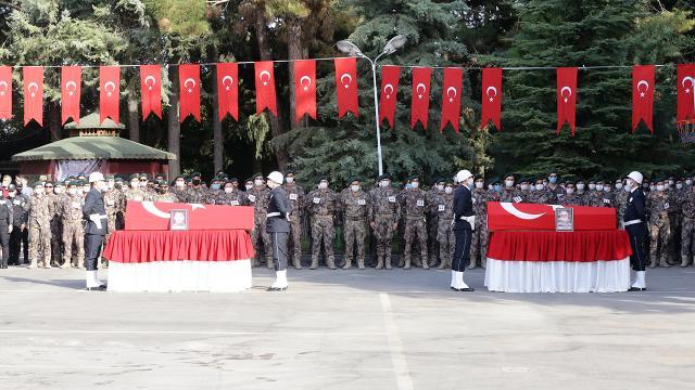 Şehit polisler için Gaziantepte tören düzenlendi