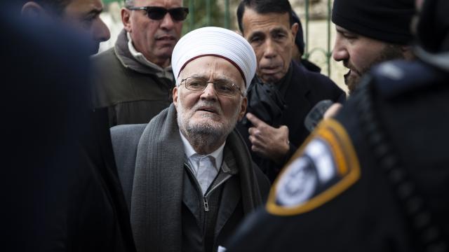 Şeyh İkrime Sabriye Mescid-i Aksadan uzaklaştırma cezası