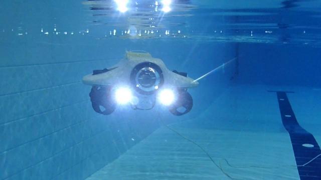 """Sivasta geliştirilen """"insansız araç"""" ile su altı keşfedilecek"""