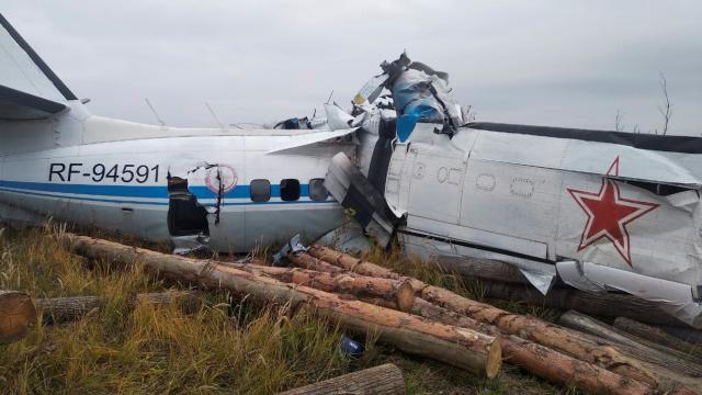 Tataristanda uçak düştü