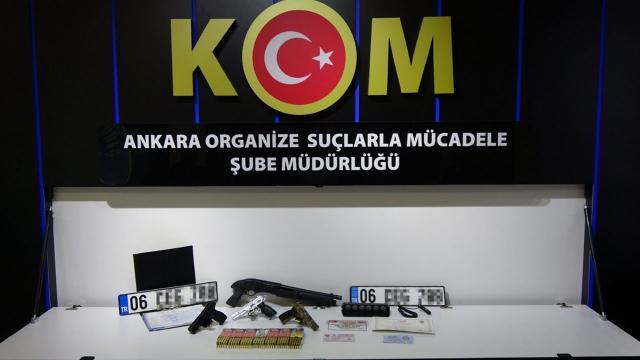 Başkentte suç örgütüne operasyon: 14 gözaltı