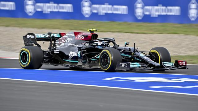 Türkiye Grand Prixsini Valtteri Bottas kazandı