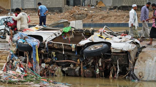 Yemende Şahin Kasırgası etkisi: 2 ölü, 5 yaralı