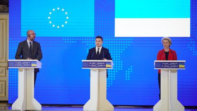 Ukrayna-AB Zirvesi: Rusyanın Kırım Tatar Türklerine baskısı kınandı