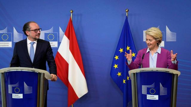 Avusturyanın yeni Başbakanı, ilk yurt dışı ziyaretini Brüksele yaptı