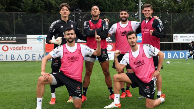 Beşiktaşın Başakşehir maçı kamp kadrosu belli oldu