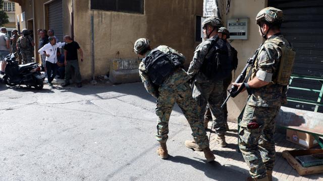 Beyruttaki çatışmalarda 9 kişi gözaltına alındı