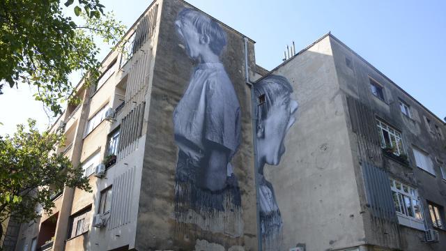 Mostarı süsleyen duvar resimleri en etkileyici 25 sokak sanatı listesinde yer aldı