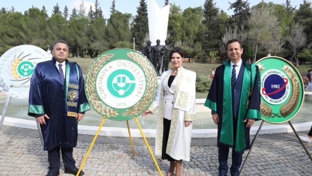 Çukurova Üniversitesinin akademik yılı törenle başladı