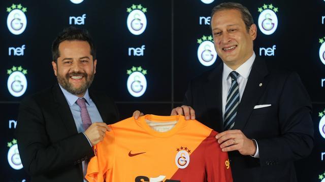Galatasaray-Nef sponsorluk anlaşması imzalandı