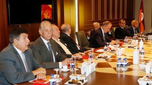 Galatasarayda YİK ilk kez toplandı