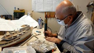 Denizcilik tarihindeki önemli gemiler elinde hayat buluyor