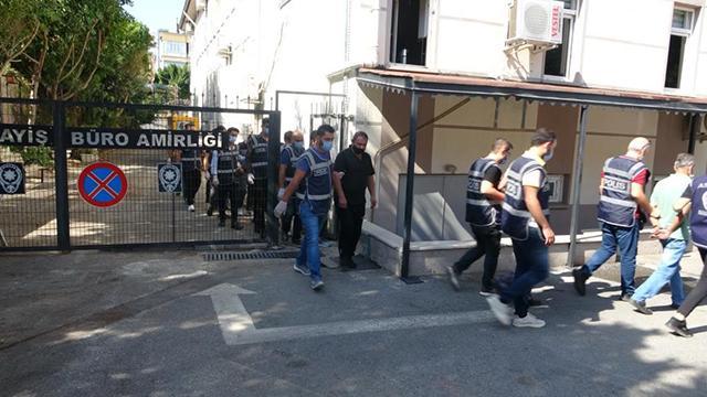 Manavgatta çeşitli suçlardan aranan 18 kişi yakalandı