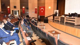 Karaman'da koordinasyon toplantısı yapıldı