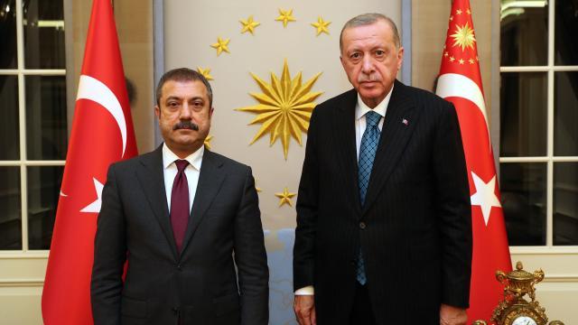 Cumhurbaşkanı Erdoğan, Kavcıoğlunu kabul etti