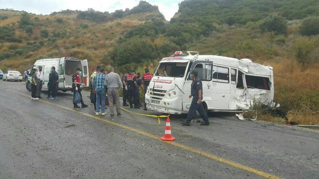 Aydında zincirleme kaza: 1 ölü, 6 yaralı