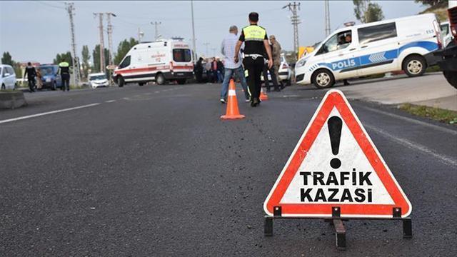 Bingölde trafik kazasında 1 kişi öldü, 2 kişi yaralandı
