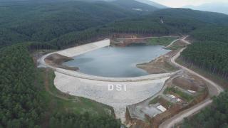 Keles Kocayayla Göleti'nin yüzde 85'i tamamlandı