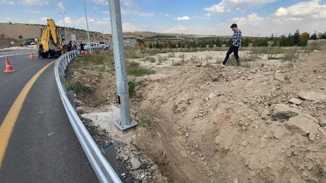Ankaradaki kazı çalışmasında insan kemiklerine rastlandı