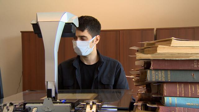 Millet Kütüphanesindeki dijital arşivleme ile eserler korunuyor