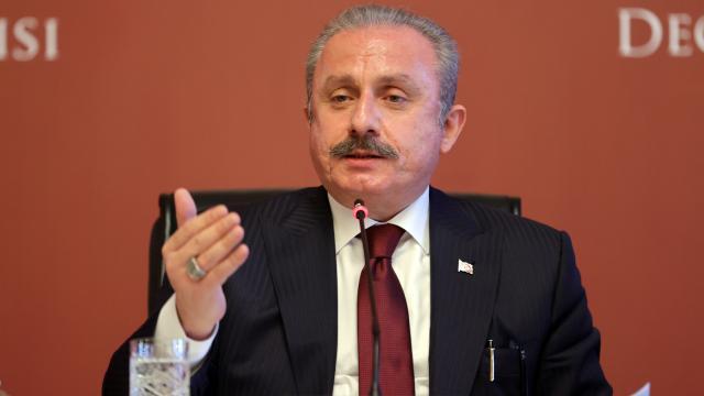 Şentop: Türkiye ile İtalya iş birliğini G20ye taşımalı