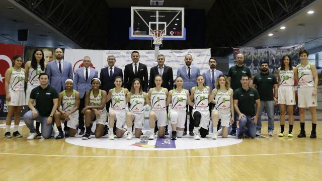 Nesibe Aydın Kadın Basketbol Takımının ilk Avrupa heyecanı başlıyor