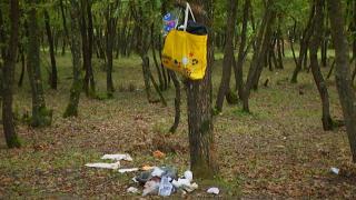 Ömerli Barajı'nın çevresi çöp dolu