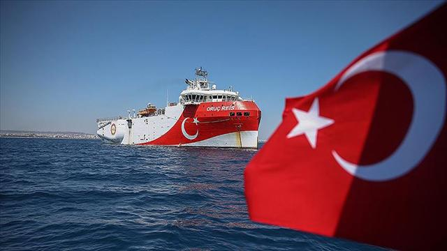 MSBden iddialara yalanlama: Oruç Reis, Yunanistanın tezlerine göre çalıştığı haberleri yalan
