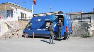 Edremit'te Mobil PTT Aracı hizmete başladı