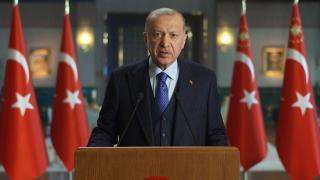 Cumhurbaşkanı Erdoğan: Salgının en yoğun hissedildiği dönemlerde bile kontak kapatma yoluna gitmedik