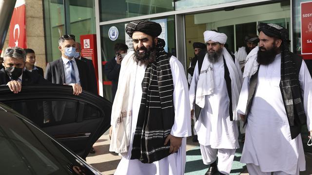 Taliban heyeti Türkiyede