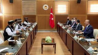 Bakan Çavuşoğlu Taliban heyeti ile görüştü