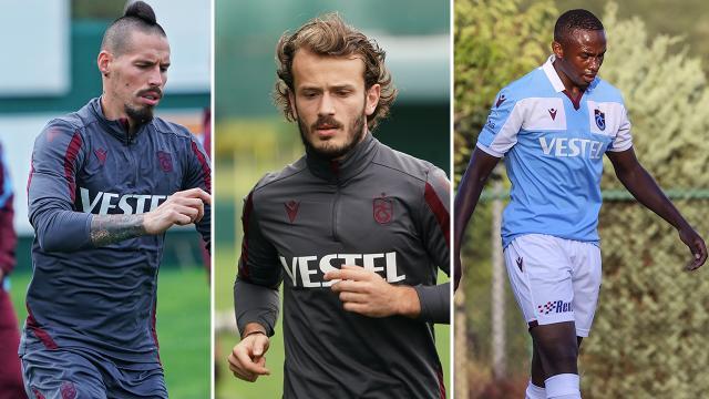 Trabzonsporda sakat oyuncular can sıkıyor