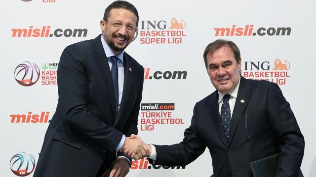 Basketbol liglerine yeni isim sponsoru