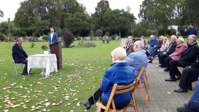 Almanyanın Wunstorf şehrinde Müslüman mezarlığı açıldı