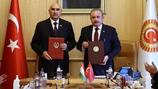 Türkiye ve Tacikistan meclisleri arasında iş birliği protokolü