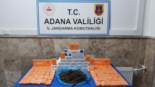 Adana'da jandarma denetimlerinde 3 gözaltı